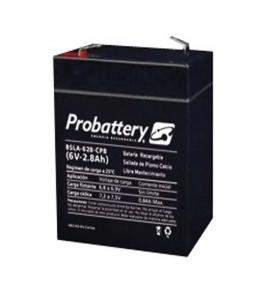 Bateria De Electrolito Absorbido 6v 2.8Ah