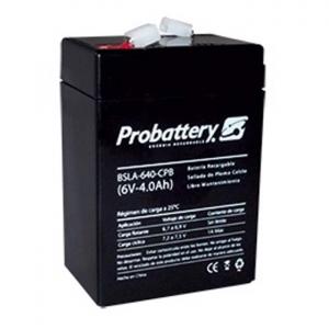 Bateria De Electrolito Absorbido 6v 4Ah