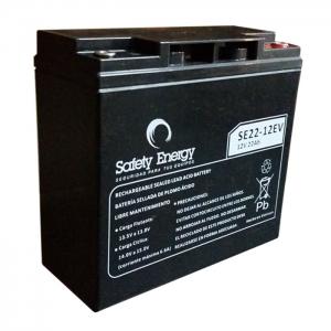 Bateria 12v 22Ah De Ciclo Profundo Para Vehiculos Electricos Safety Energy