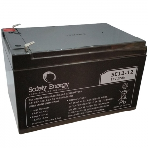 Bateria De Electrolito Absorbido 12v 12Ah Safety Energy