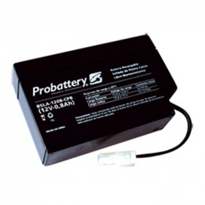 Bateria De Electrolito Absorbido 12v 0.8Ah Con Cables